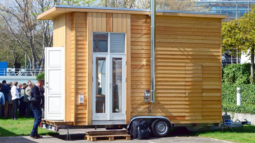 tiny houses sind mini h user die zukunft des wohnens in. Black Bedroom Furniture Sets. Home Design Ideas